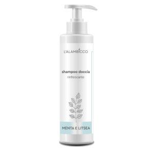 Shampoo Doccia - Menta e Litsea